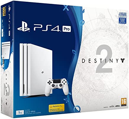 Console Playstation 4 Pro Ps4 Pro Hdr 4k 1tb - Branco (Internacional)