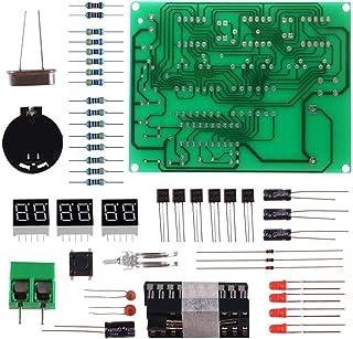 Organizer Digital LED Electronic Clock DIY Kits PCB Soldering Practice Learning Board AT89C2051 and Components DC 9V - 12V...