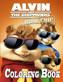 Alvin and The Chipmunks Coloring Book