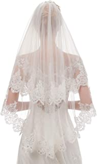 Best bridal veils with bling Reviews