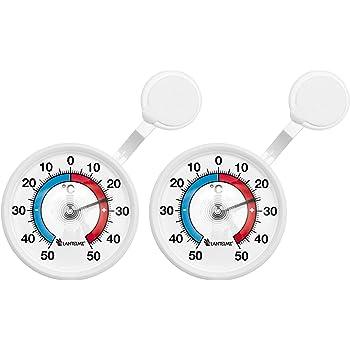 Fensterthermometer RÖHRE außen °C Thermometer Außenthermometer Zimmerthermometer