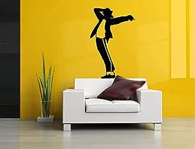 Vinyl Sticker Michael Jackson Silhouette Singer King Pop Super Star Music Musician Mural Decal Wall Art Decor SA2484