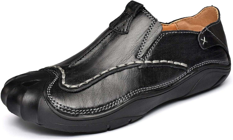 OTOSU Men's Walking Shoes Loafer Lightweight Slip-on Shoes for Formal Dress Casual Outdoor Black