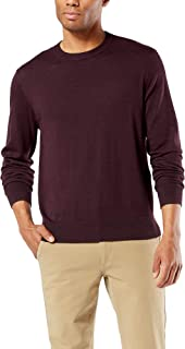 dockers Long Sleeve Crewneck Sweater Pull-Over Homme