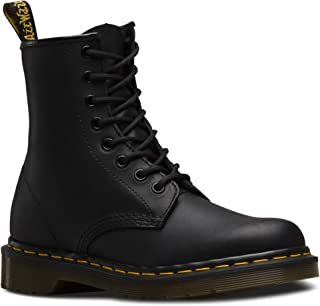 1460 Original 8-Eye Leather Boot for Men and Women, Black Smooth