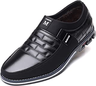 COSIDRAM Men Casual Shoes Sneakers Loafers Breathable Comfort Walking Shoes Fashion Driving Shoes Luxury Leather Shoes for Male Business Work Office Dress Outdoor