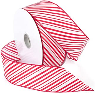 Morex Ribbon 7410.60/50-609 garden, 2.5-In x 50-Yd Red / White