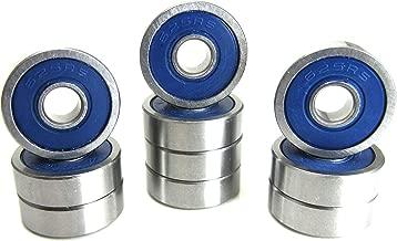 5x16x5mm Precision Ball Bearings ABEC 3 Blue Rubber Seals (10)