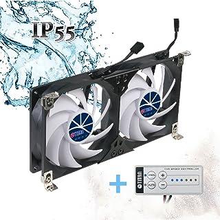 Unbekannt Otstige FRE35145 - Ventilador Doble para frigorífico