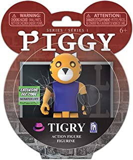 "Piggy Tigry Series 1 3.5"" Action Figure (Includes DLC Items)"