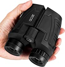 Occer 12×25 Compact Binoculars with Low Light Night Vision, Large Eyepiece High..