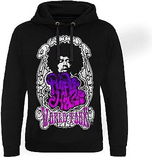 Officially Licensed Jimi Hendrix - Purple Haze World Tour Epic Hoodie