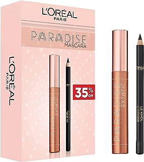 L'Oreal Paris Paradise Mascara Eye Kit Paradise Mascara and Le Khol Eyeliner - Pack of 1
