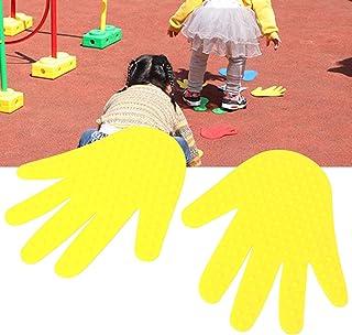 Okuyonic Pad extérieur Mains Pieds Accessoires de Jeu Non-Plaque à Main pour la Maternelle pour Les Enfants