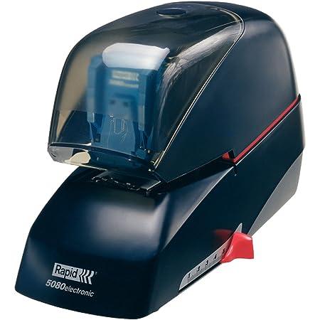 Rapid R5080E - Graffatrice elettrica in plastica e metallo, colore: Nero 20993410