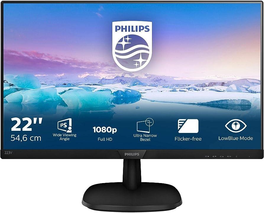 Monitor pc philips 223v7qhab monitor 22