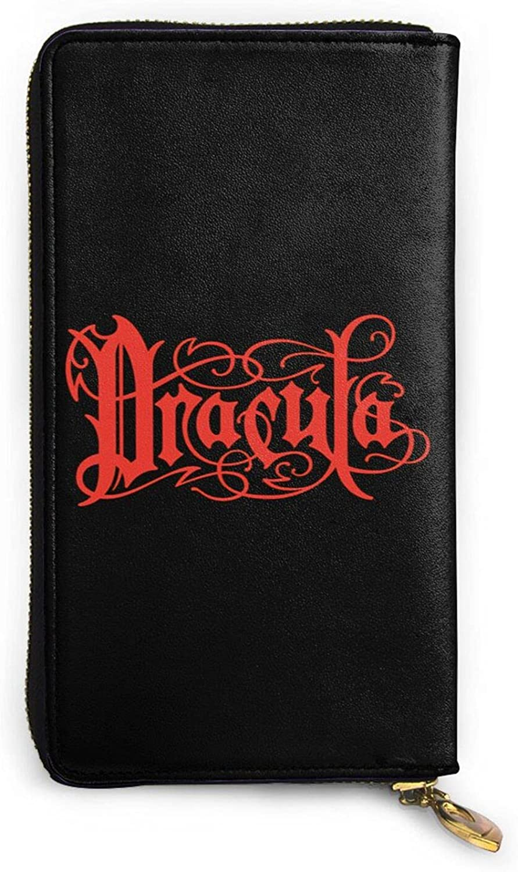 Dracula wallet Genuine Leather specialty shop Wallet Card Zip Holder Sale SALE% OFF Organizer