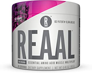 REAAL - REAAL Fuji Grape Powder, Helps Build, Restore, and Maintain Lean Muscle with Essential Amino Acids, Gluten Free, B...