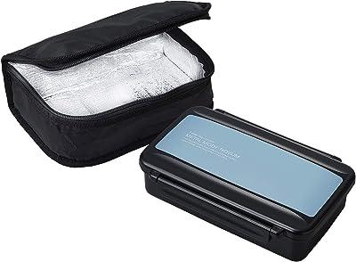 OSK 弁当箱 ライトブルー 850ml メタルモードノーム ランチボックス保冷バッグ付き BL-17HSF