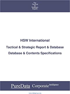 HSW International: Tactical & Strategic Database Specifications - Nasdaq perspectives (Tactical & Strategic - United State...