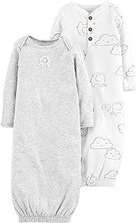 Baby 2-PK. Babysoft Unisex Sleeper Gowns