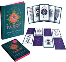 The Tarot Book and Card Deck: Reconnect With You: A Comprehensive Introduction to the Tarot with an illustrated Tarot deck