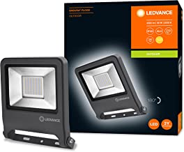 LEDVANCE Schijnwerper LED: voor muur, ENDURA FLOOD Warm wit / 50 W, 220…240 V, stralingshoek: 120, Warm wit, 3000 K, body ...