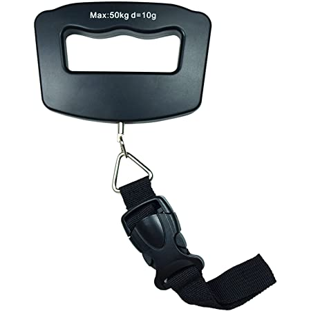 Horizon 50kg /110 LB x 10g Digital Travel luggage Scale Hanging Scale with Strap