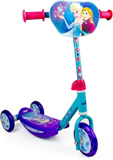 frozen disney tri scooter with adjustable handlebar