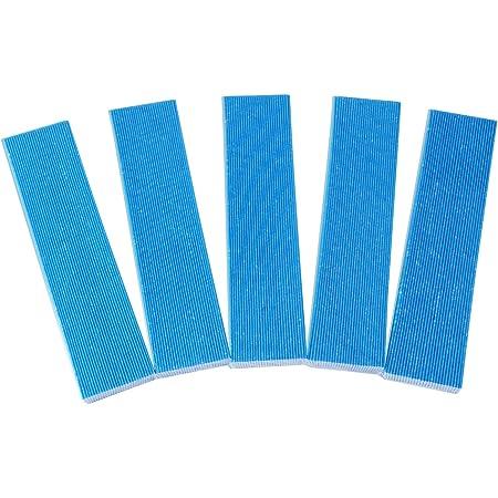 空気清浄機用 交換用フィルター 集塵フィルター KAC006A4と後継品 KAC017A4(汎用型/5枚入り) プリーツフィルター