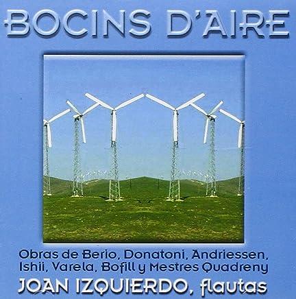 Bocins d'aire -- New Music for Flute by Berio, Donatoni, Ishii, L Andriessen, Bofill, Varela and Quadreny