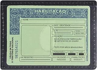 Porta Cartão/Cnh Masculino Couro Legítimo 01