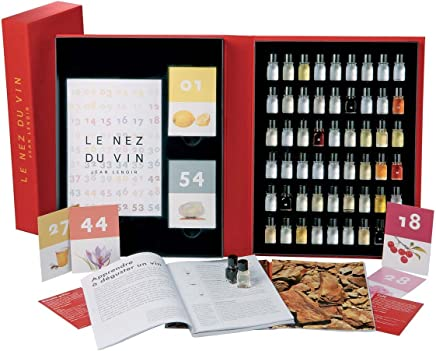 Le Nez du Vin : 54 aromes, collection complete en francais (coffret) (French Edition)