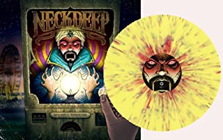 Neck Deep - WishFul Thinking Yellow & Purple w/ Red Splatter VINYL LP