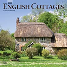 English Cottages 2020 12 x 12 Inch Monthly Square Wall Calendar, UK United Kingdom Gardening Outdoor Home Country Nature