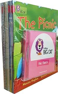 柯林斯大猫 经典粉红系列 BIG CAT SET PINK A 英语分级读物