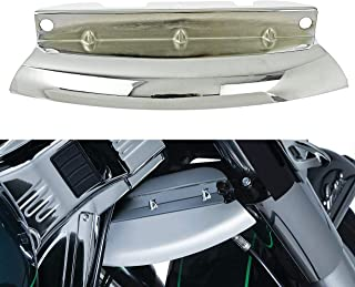 Bid4ze Chrome Inferiore Forcella Gamba Copertura Deflettori Guard Copertura per Harley Touring Electra Road Street Tri Glide 2000-2013