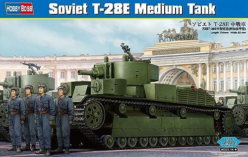 tienda de bajo costo Hobby Jefe 83854 - T-28E Kit Modelo soviético Tanque Medio Medio Medio  solo cómpralo