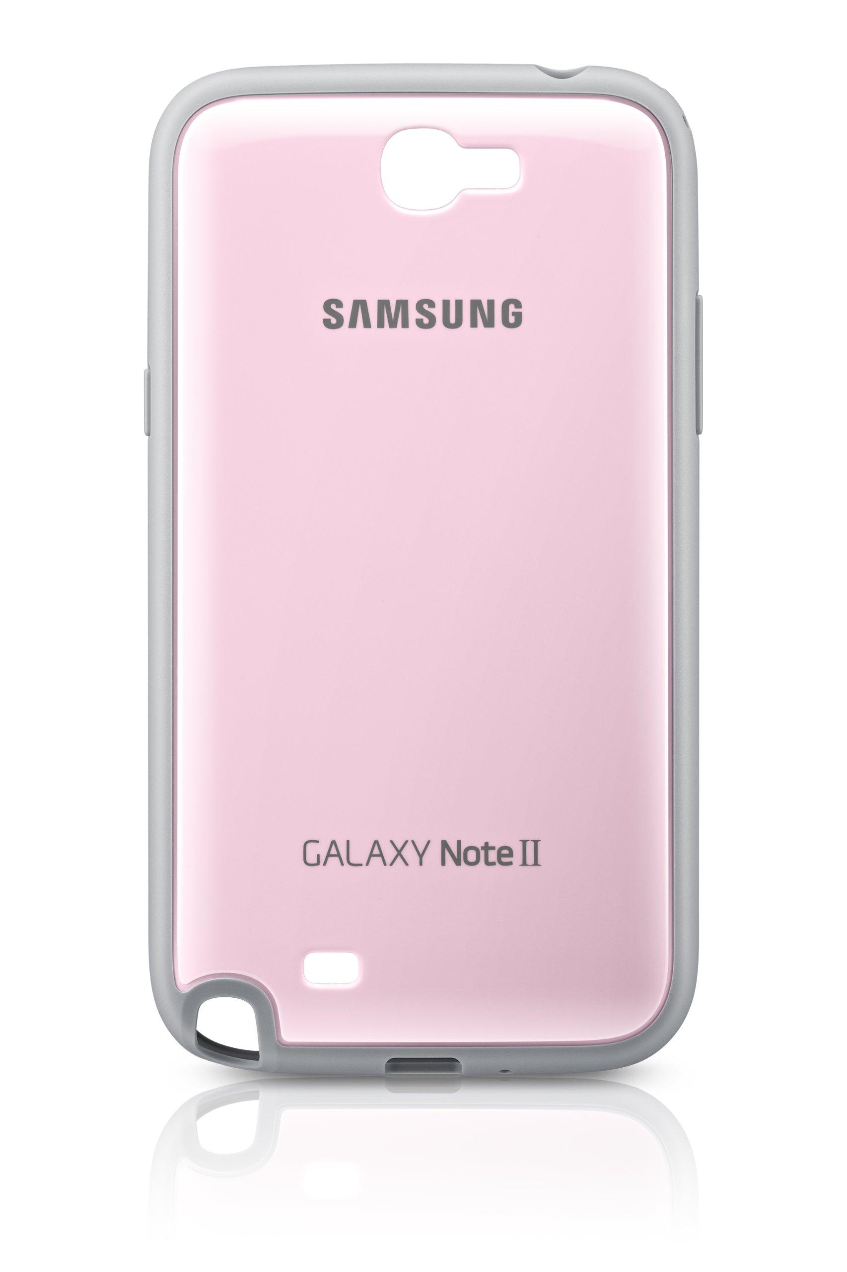 Samsung G034N2PRP - Funda para Galaxy Note II, color rosa- Versión ...