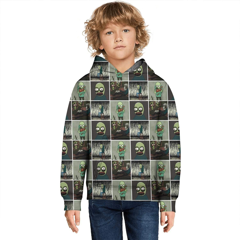 Regular dealer ALICRKP Boys Girls Kid's 3D Hubert Pullover Print Inexpensive Hoodies Cumber