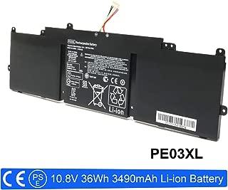 VUOHOEG 10.8V 36Wh PE03XL Battery Replacement for HP PE03XL PE03 Chromebook 210 G1 11 G4 HSTNN-LB6M HSTNN-PB6J 766801-421 767068-005 766801-851 Series Laptop