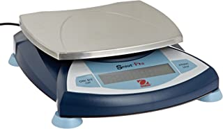 Ohaus SP6001 AM Scout Pro Portable Electronic Balance, 6000g Capacity, 0.1g Readability