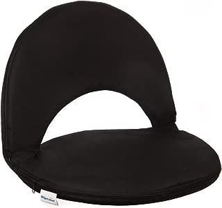 Alpcour 斜倚体育场座椅带后袋和肩带 - 宽便携式防水体育场椅带背靠垫持久耐用 - 适用于漂白剂、露营、海滩等等