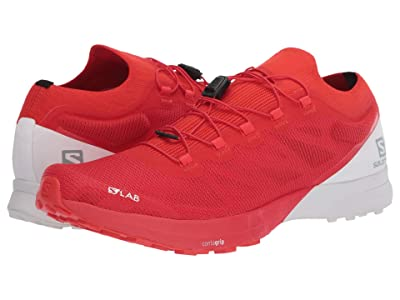Salomon S/Lab Sense 8 (Racing Red/White/White) Shoes