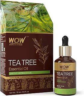 WOW Skin Science Tea Tree Essential Oil - 15 mL