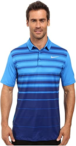 Nike Mobility Fade Stripe Polo à Manches Courtes Homme