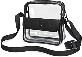 large clear purse