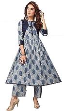 Madhuram Textiles Women's Cotton Salwar Suit