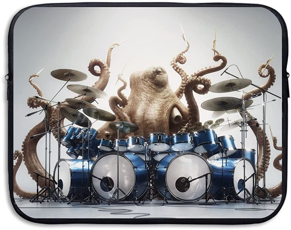 15 Well-Read Octopus by Studio Catawampus on Laptop Sleeve Laptop Sleeve