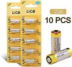 LiCB 23A A23 12V Alkaline Battery (10PCS)